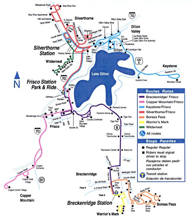 breckenridge colorado maps